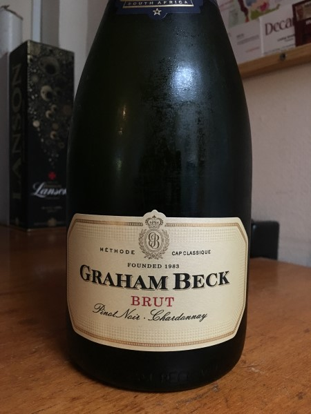 South African Graham Beck fizz