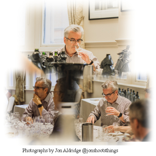 Random wine awards judging pictures