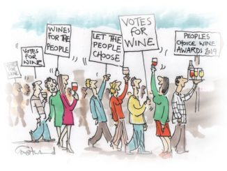 PCWine Awards Cartoon