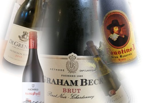 A small selection of wines I've enjoyed in 2019