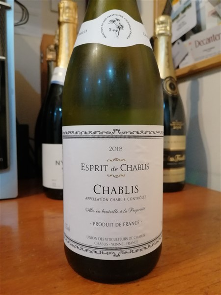 A Mixed Bunch - French bottle of Esprit de Chablis review
