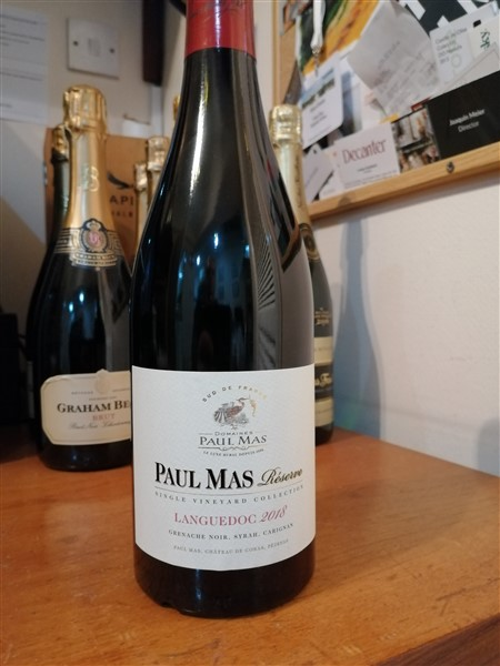 A mixed bunch -Paul Mas Languedoc Rouge 2018 Grenache, Syrah and Carignan review