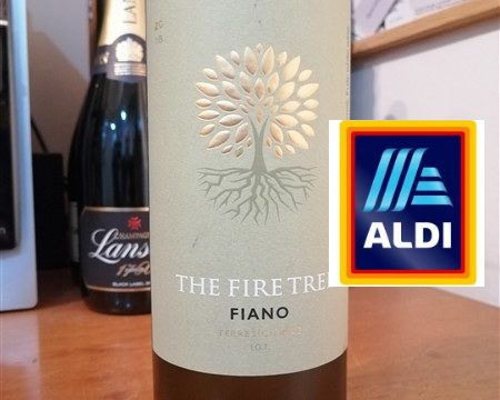 Aldi - Fire Tree Fiano white wine