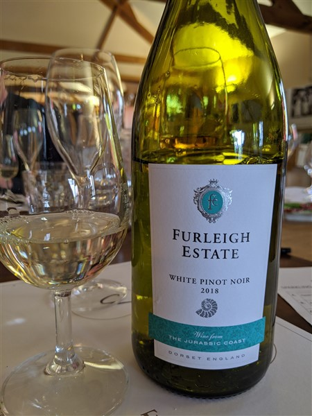 Furleigh Estate white Pinot Noir